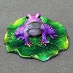 Bronze Frog Sculpture Juliet