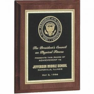 Engraved Economy Plaque Awards