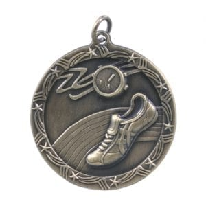 Shooting Star Track Medal