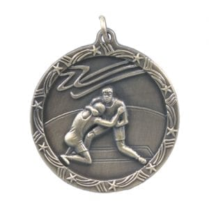 Shooting Star Wrestling Medal
