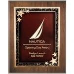 Starburst Plaque Award 7×9