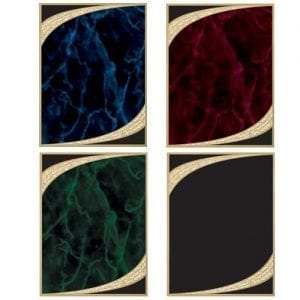 blue, red, green, black, majestic plates