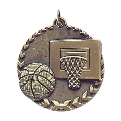 Basketball Team Medals