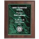Cherry Plaque with Acrylic Plate 7″x9″