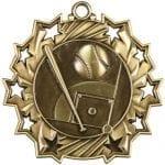 Ten Star Baseball Medals
