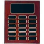 Rosewood Perpetual Economy Plaque 18 plate