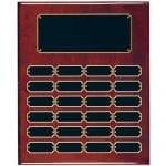 Rosewood Perpetual Economy Plaque 24 plate