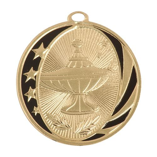 Academic Medals Shiny Gold