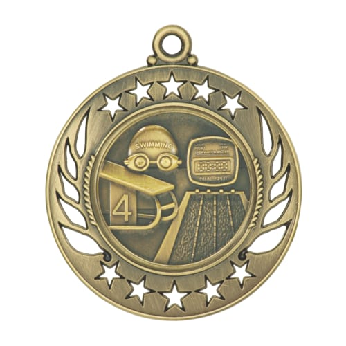 Galaxy Swimming Medals