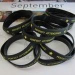 Perfect Attendance Wristbands