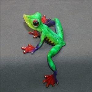 Bronze Frog Figure Elexess
