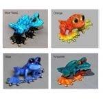 blue topaz, orange, blue, turquoise
