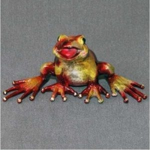 Frog Figurine Mikey