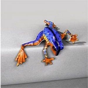Bronze Frog Peek a Boo