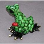 Frog Figurine Bugsy