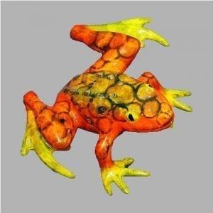 Frog Sculpture Bumpy