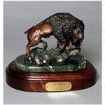 Bronze Buffalo Wildlife Art
