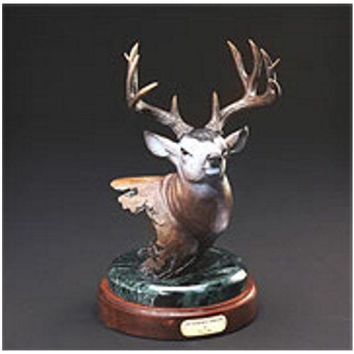 Bronze Bull Elk Sculpture