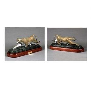 Bronze Cougar Sculpture more views