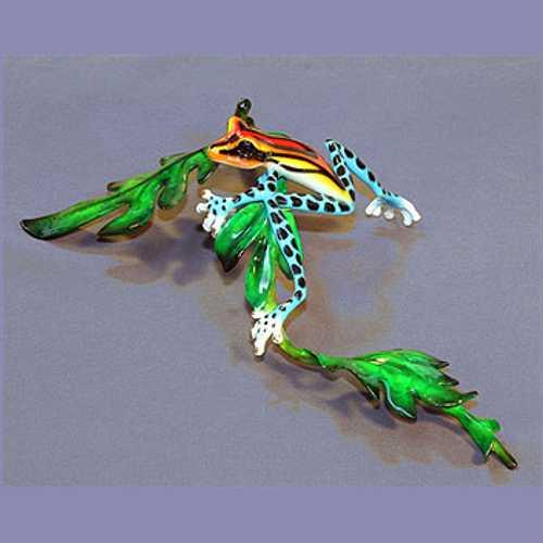 Bronze Frog Lazy