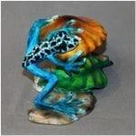 Bronze Frog on Toadstool
