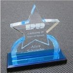 Carved Star Acrylic Awards