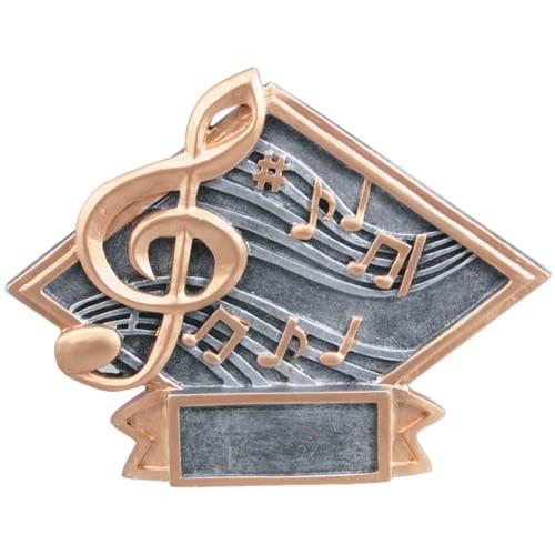 Resin Music Trophy Plaque