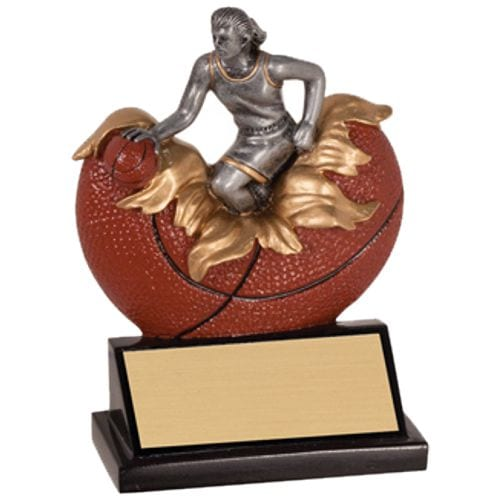 Xploding Girls Basketball Trophies