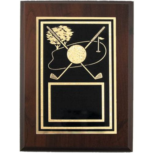 Golf Themed Plaque