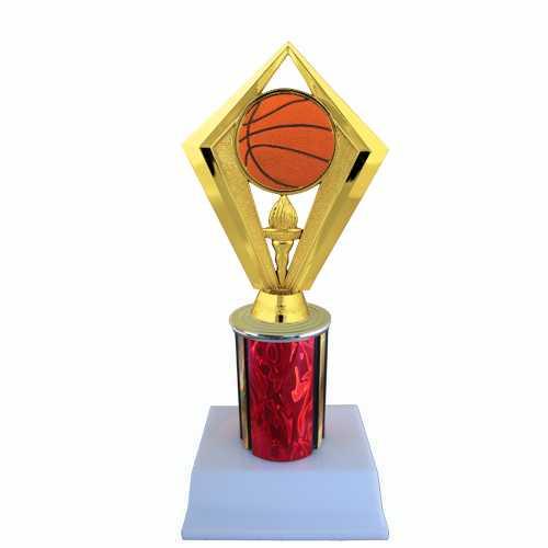 Basketball Diamond Shape Trophy