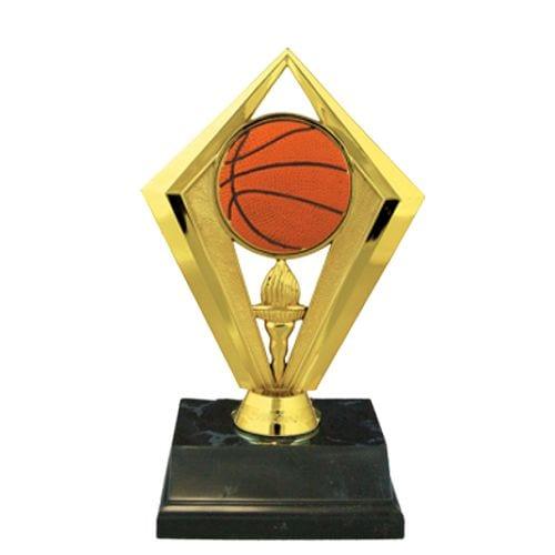 Basketball Diamond Shape Award