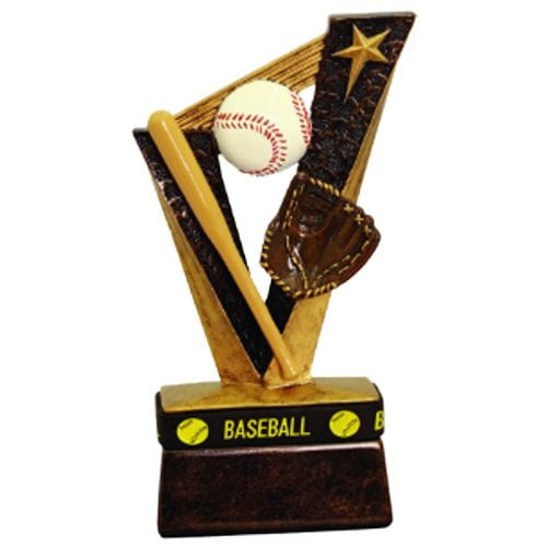 Baseball Trophies with Wrist Band