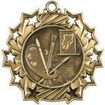 Art Medals Ten Star