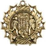Cross Country Ten Star Medals