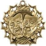 Drama Award Medals Ten Star