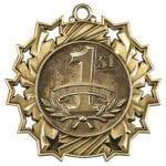 Ten Star First Place Medals