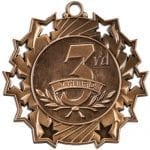 Ten Star 3rd Place Medals