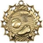 Ten Star Basketball Medals