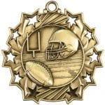 Ten Star Football Medals