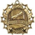 Ten Star Honor Roll Medals