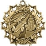Ten Star Pinewood Derby Medals