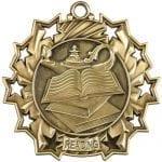 Ten Star Reading Medals