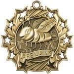 Ten Star Spelling Bee Medals