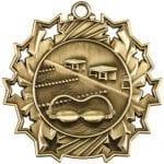 Ten Star Swimming Medals