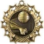 Ten Star Volleyball Medals