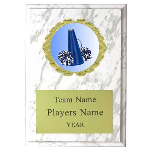 Cheer Plaque with Insert