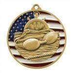 Patriotic Swimming Medals