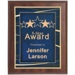 Recognition Plaque with Wide Border