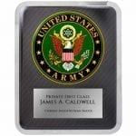 Army Hero Plaque Award
