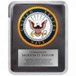 Navy Hero Plaque Award